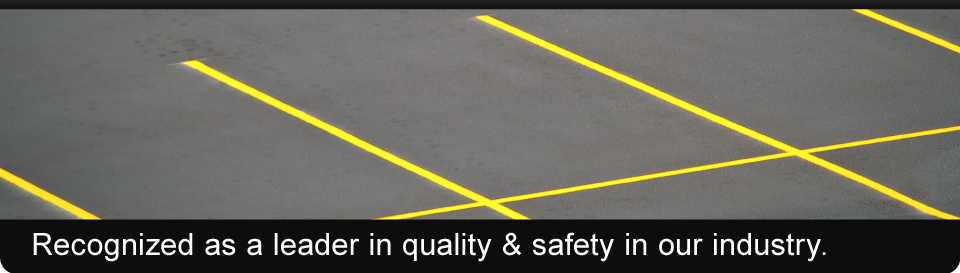 Recognized as a leader in quality & safety in our industry. | Parking lot maintenance Comox Valley