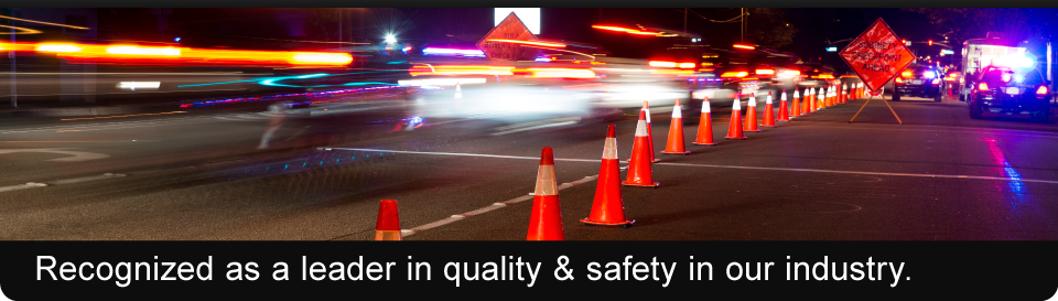 Recognized as a leader in quality & safety in our industry. | traffic control services provided